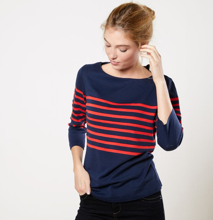 quite nice outlet on sale look out for T-shirt marin femme - T-shirts femme • Phildar