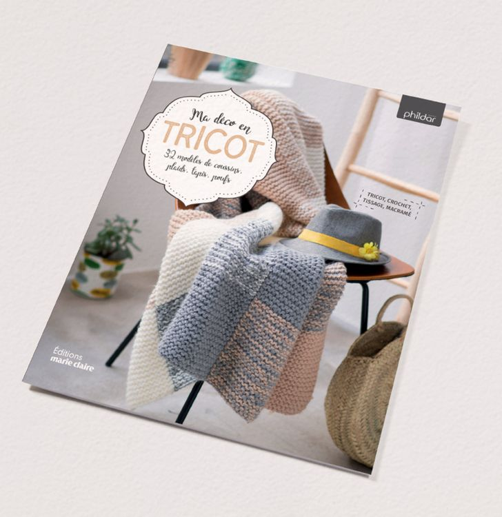 Catalogue n°858 : Ma déco en tricot
