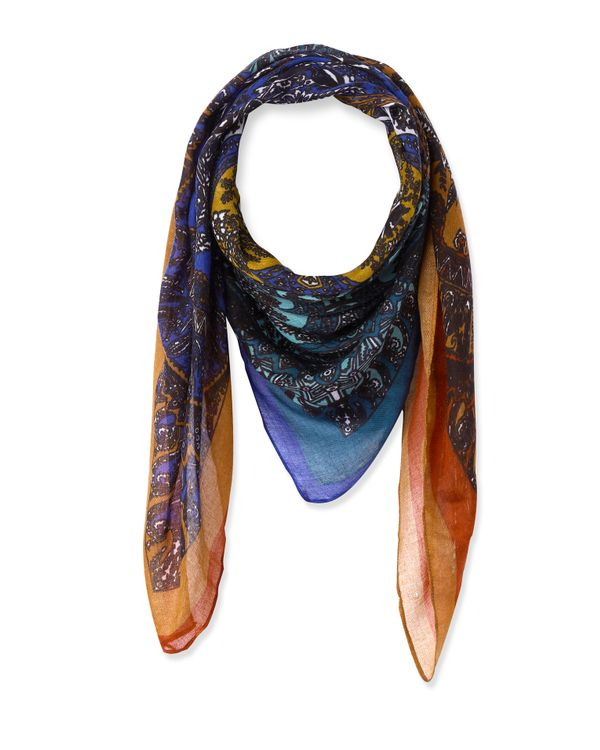96b11316386 Foulard imprimé Indian femme - Foulards   Étoles • Phildar