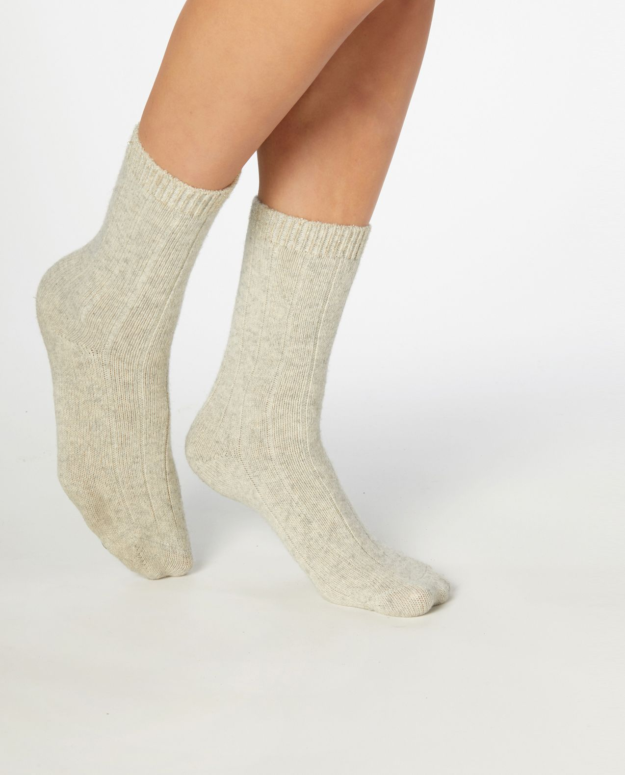 Chaussette cocooning cachemire - CAMILA