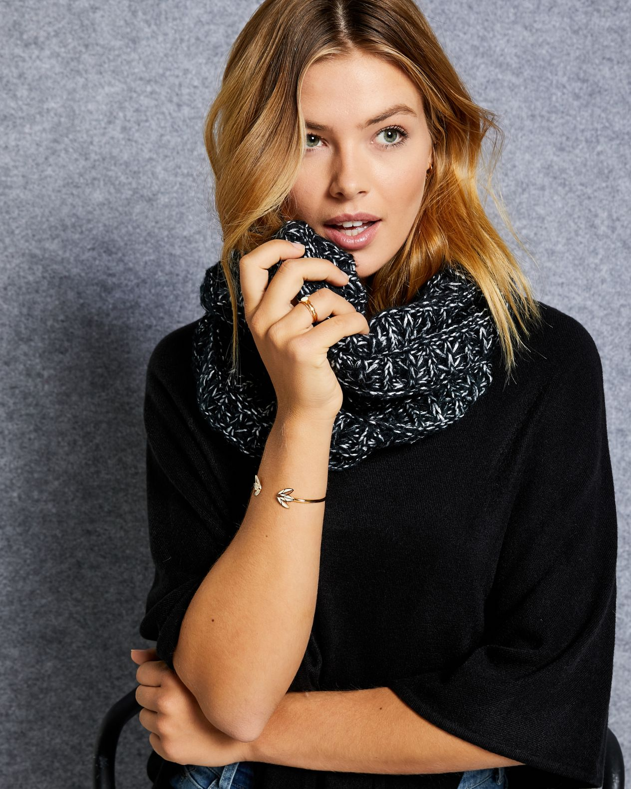 Snood Grosses Mailles