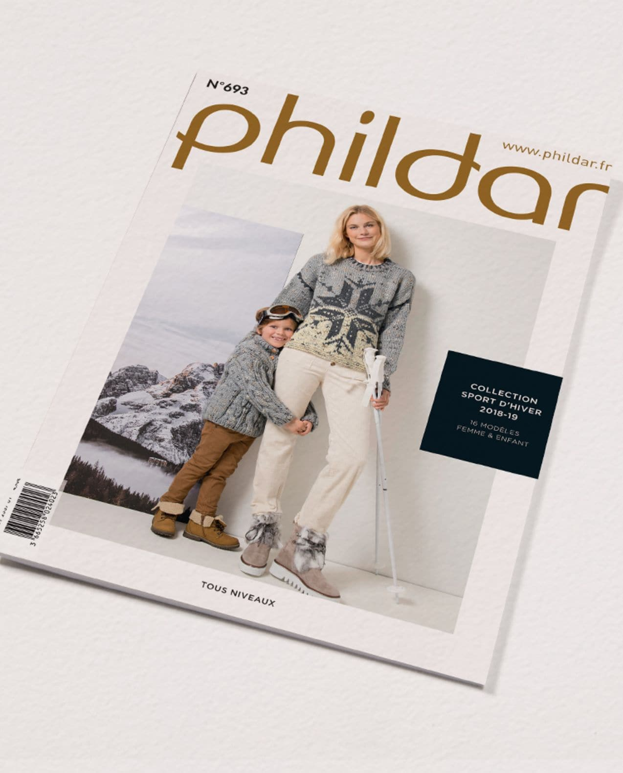 Catalogue n°693 : Sport d'hiver famille