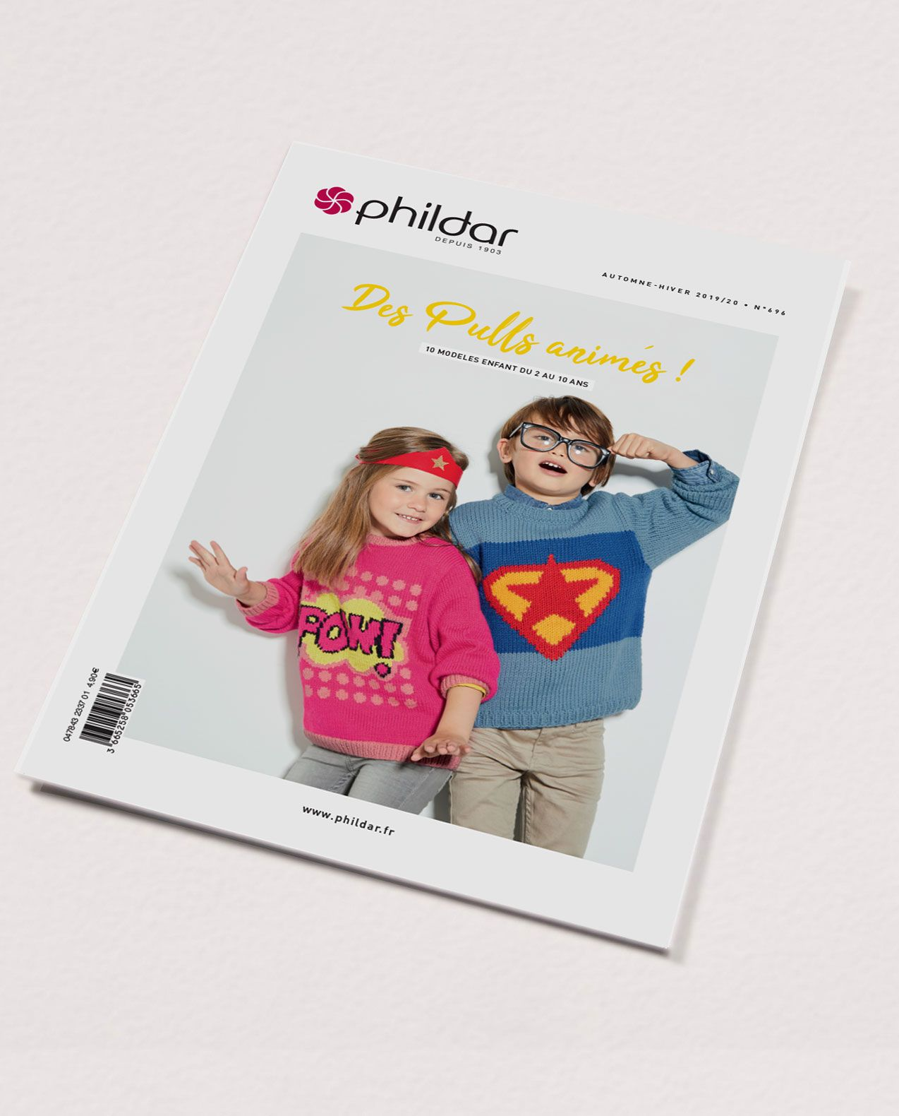 Catalogue n°696 : Pulls animés enfant