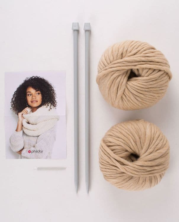 Kit diy - snood en phil big wool