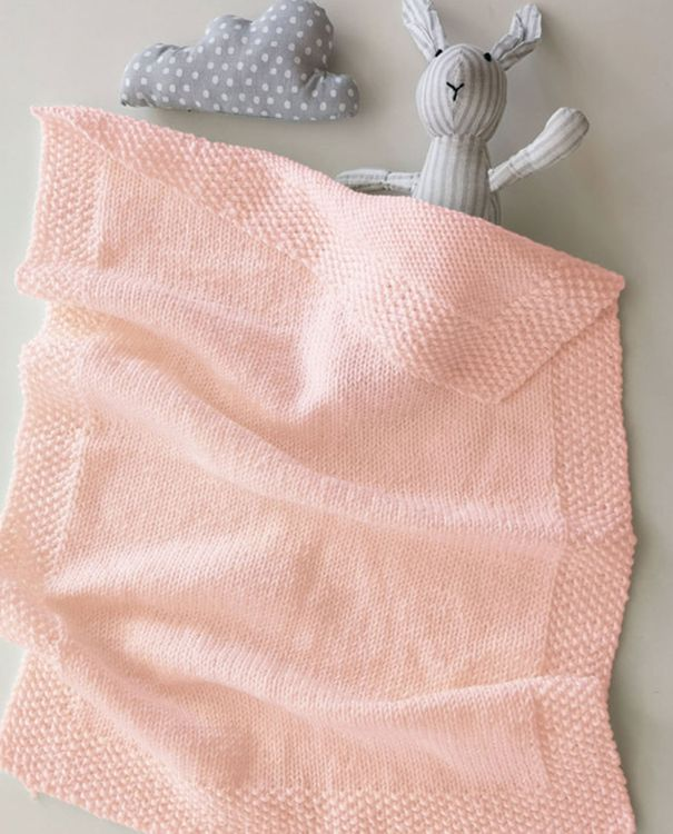 Kit diy - couverture layette en merinos