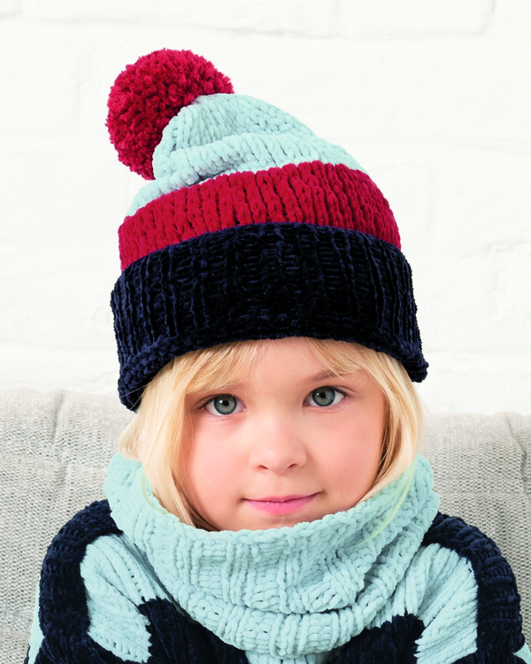 Modèle Snood Fille Olaf Phil Velours