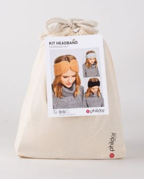 Kit diy - headband pur angora