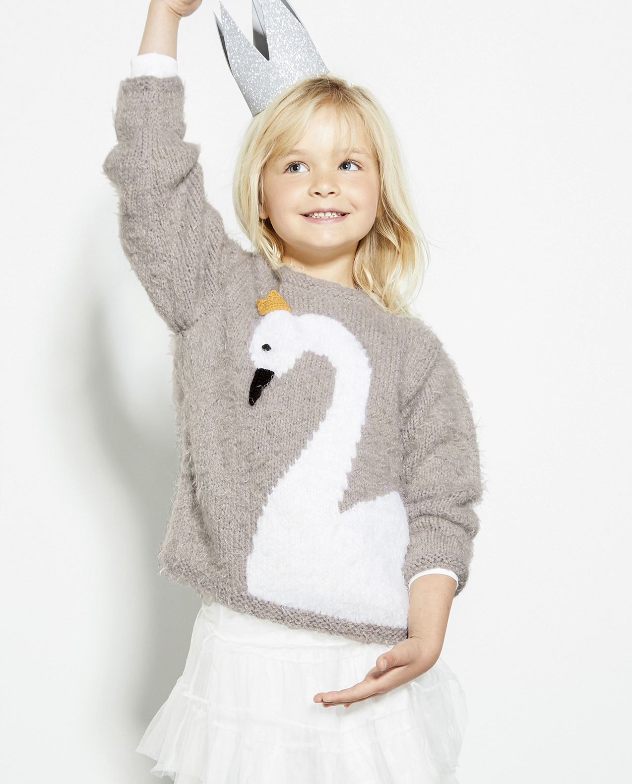 Modèle Pull Fille Princia Phil Beaugency
