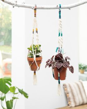 Kit DIY - « 2 suspensions en macramé »