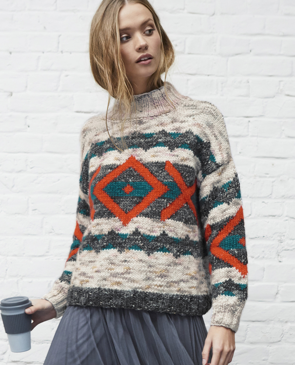 Modèle Pull Femme Adrielle Phil Tweed