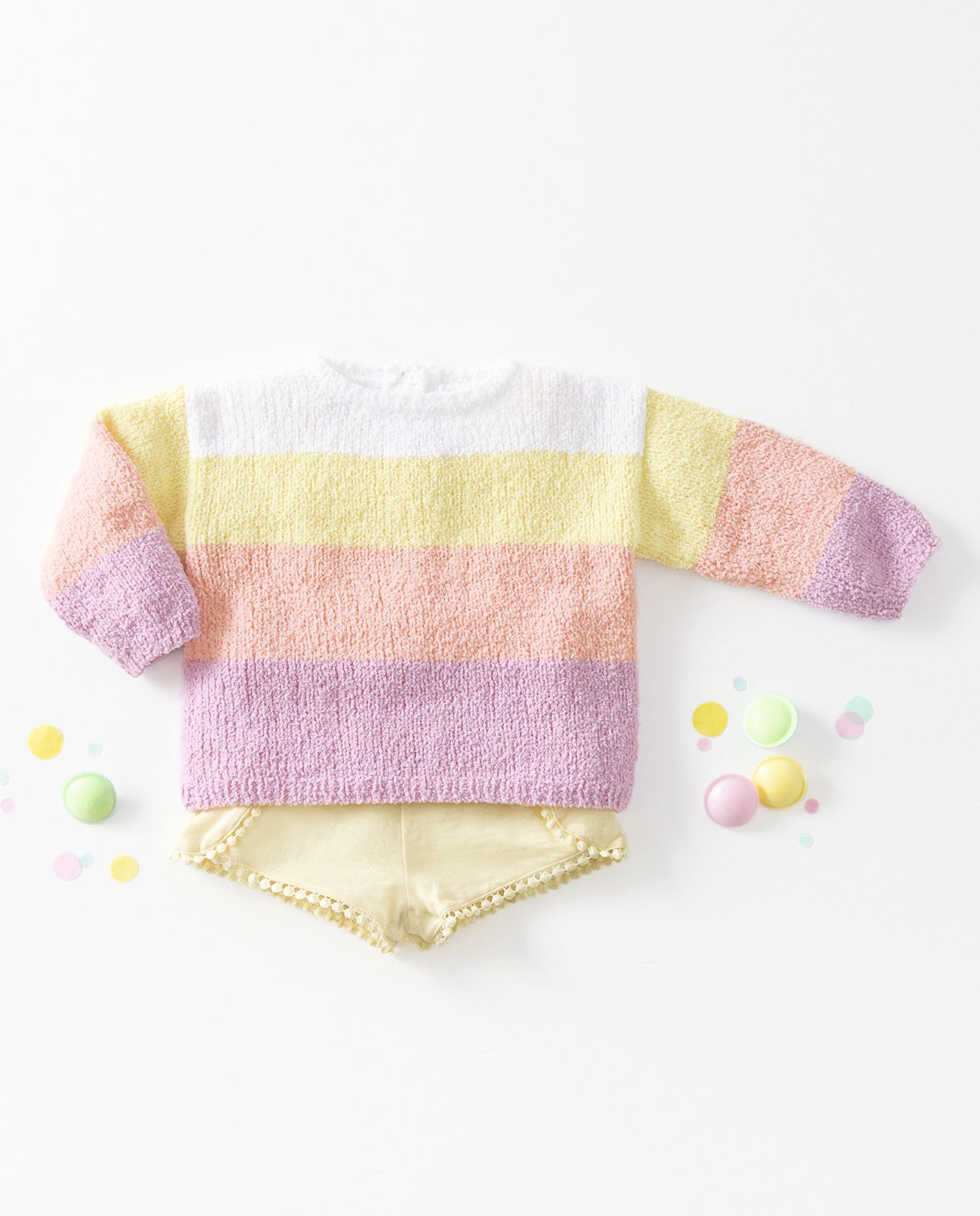 Modèle Pull Fille Xana Phil Baby Doll