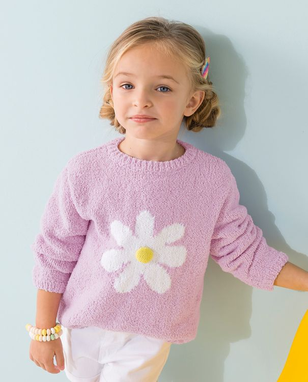 Modèle Pull Fille Claudia Phil Baby Doll