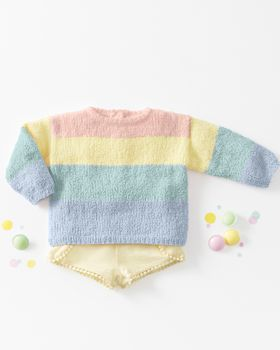 Fiche Modèle Pull Fille pastel Phil Baby Doll