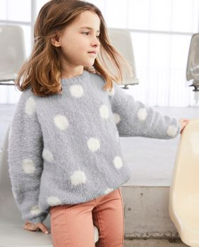 Modèle Pull Fille Phil Gourmand