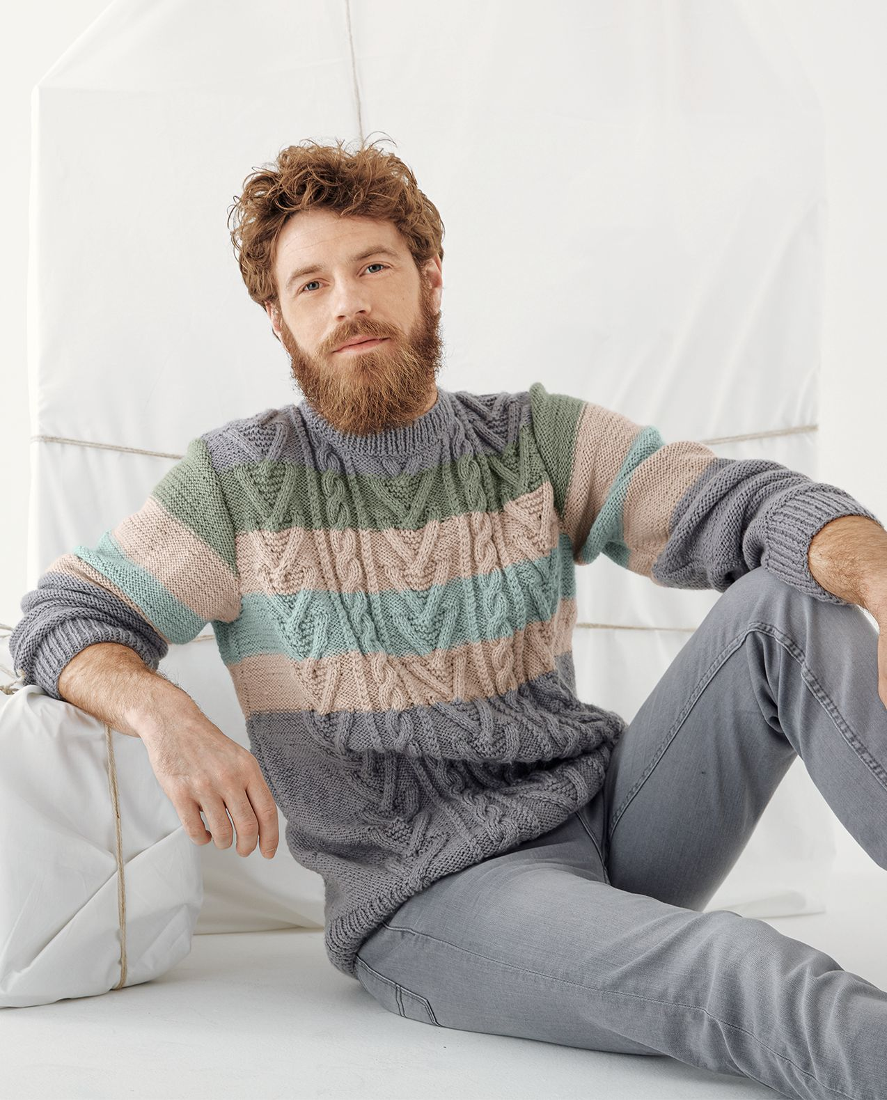 Fiche Modèle Pull Homme Hector Phil Ecolaine