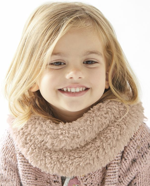 Modèle Snood Fille Nina Phil Nounours