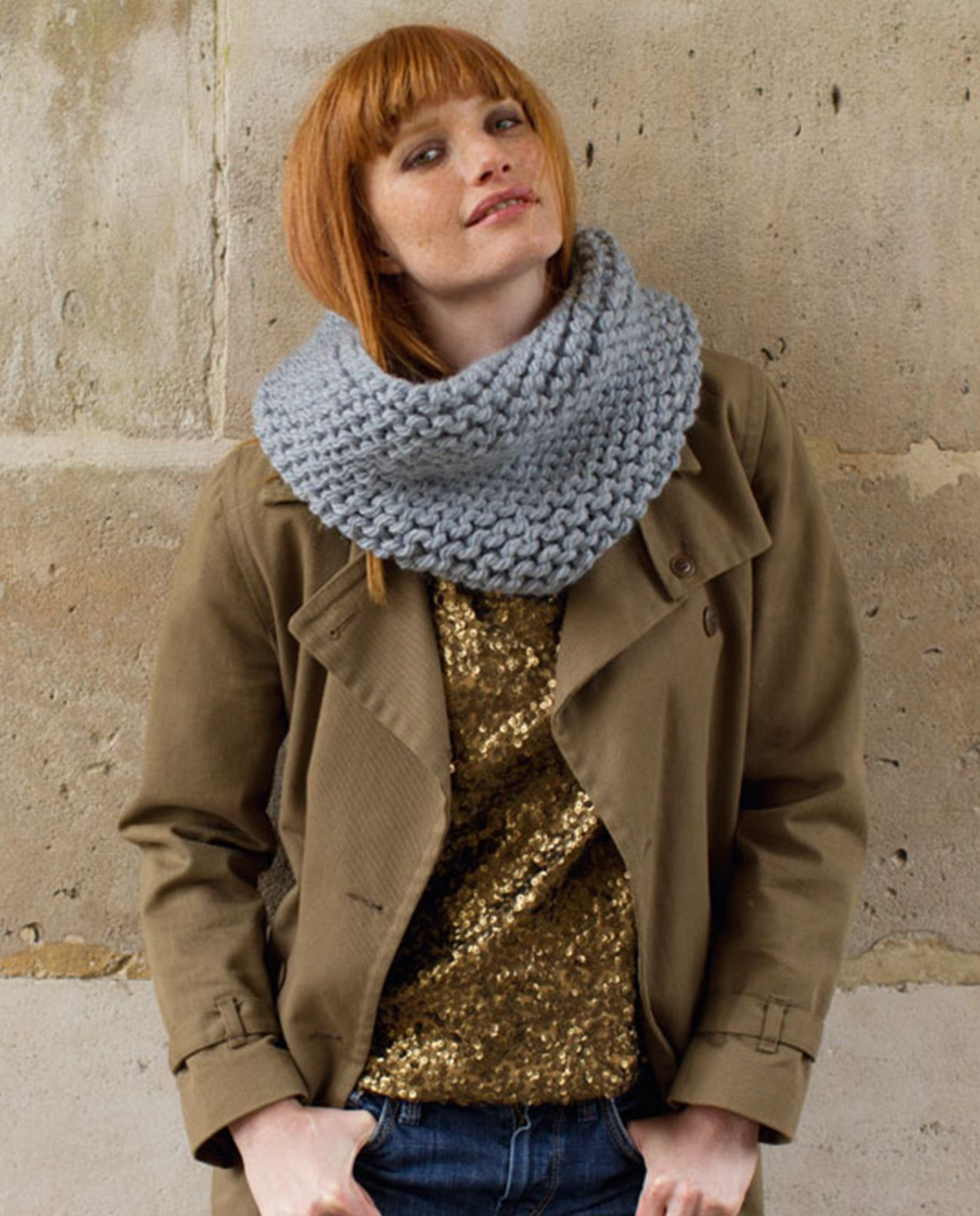 Modèle snood mixte Phil Express