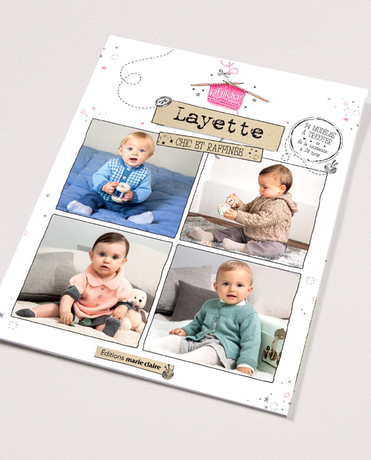 Livre tricot n°853 : Layette chic