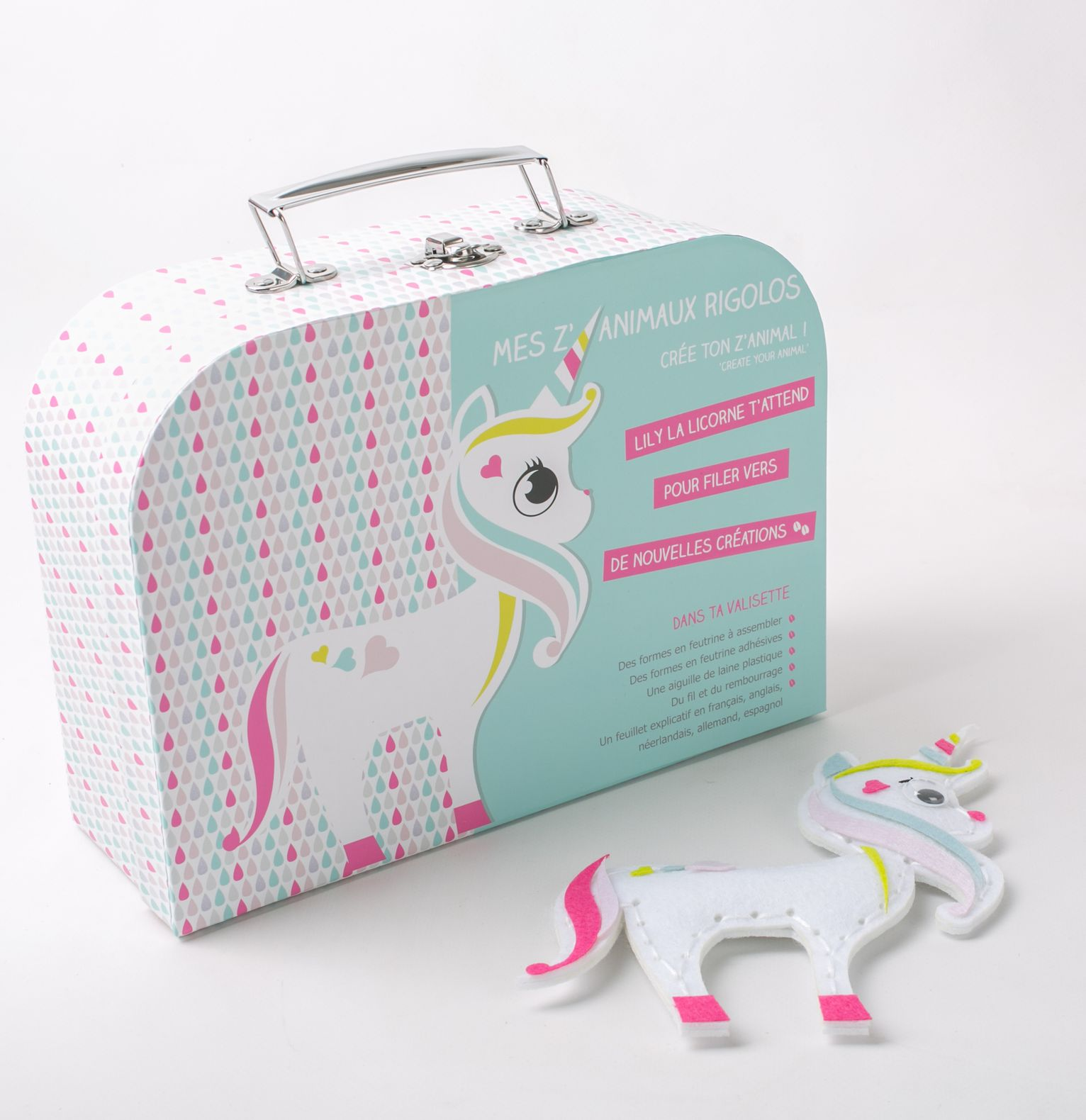 KIT DIY - Lily la licorne