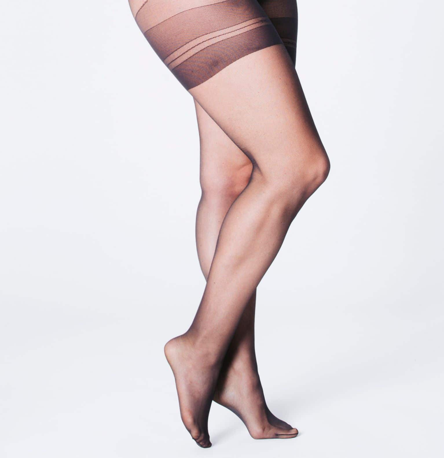 QUEEN TULLE - Collant grande taille